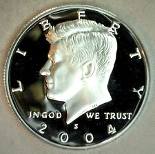 2004 S Proof SILVER Kennedy Half Dollar Coin 50 Cent JFK Fifty Cents