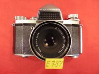 Spiegelreflexkamera PRAKTICA  IV FB.Tessar 2,8/50 Carl Zeiss Jena