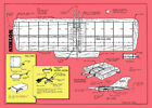"""Model Airplane Plans (UC): NOTHIN 35½"""" Combat for .35 Engine by Riley Wooten"""