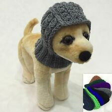 Handmade Knit Clothes Winter Hat for Dogs / Pets Size XXS, XS, S