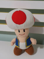 TOAD NINTENDO CHARACTER TOY PLUSH 20CM! SUPER MARIO 2012