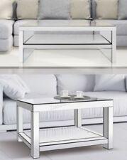Mesas de centro de dormitorio de vidrio para el hogar