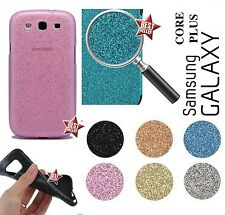 CUSTODIA COVER CASE TPU BRILLANTINI STRASS per SAMSUNG GALAXY CORE PLUS G3500