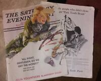 LOT of 2 1932 MARCH MCCALL'S MAGAZINES- NEYSA MCMEIN Jan 27 1940 SATURDAY EVPOST