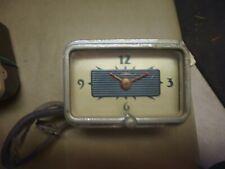 1940 Ford/Mercury Vintage Car Clock untested