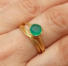 Unbranded Onyx Yellow Gold Plated Fashion Rings