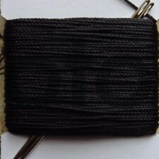 20m VERY STRONG LEATHER SEWING THREAD approx 1mm THICK PLUS  2x blunt needle