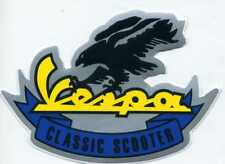 Vespa Classic Scooter Eagle Motorcycle Decal Vinyl Sticker 31P