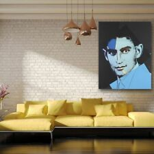 Andy Warhol Franz Kafka From Ten Portraits Of Jews Canvas Oil Painting Wall Art