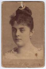 K.u.k Portrait Foto Mary Vetsera,Geliebte Kronprinz Rudolf,kuk photo baroness,FJ