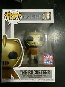 Funko Pop The Rocketeer Funkon 2021 Exclusive