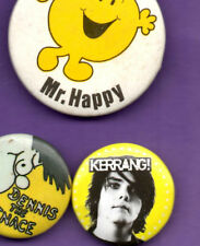 Kerrang - Music Magazine - Button Badge 1980's