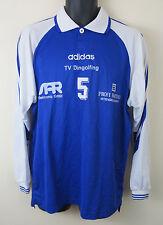 De Colección Adidas 90s Camiseta De Fútbol Retro Fútbol Jersey Futbol trikot Azul M Mediano