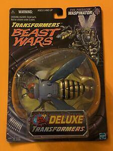 1999 Transformers Beast Wars Deluxe Waspinator Evil Predacon Hasbro Fox Kids MOC
