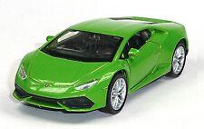 NEU: Modellauto Lamborghini Huracán LP 610-4 grün ca. 11,5cm Neuware von WELLY
