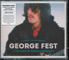George Fest 2 CD 1 DVD Night to Celebrate Music of George Harrison NEW