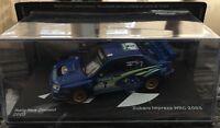 """DIE CAST """" SUBARU IMPREZA WRC RALLY NEW ZEALAND 2003 SOLBERG - MILLS"""" SCALA 1/43"""