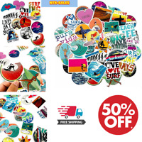 Stickers Lot Surfing Stickers Decal For Surfboard Skateboard Guitar Car Sticker.