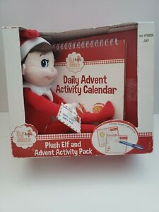 Plush Elf on the Shelf and Advent Activity Pack