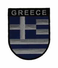 Griechenland Wappenpatch 8 * 6,5 cm, Patch, Flagge, Aufnäher