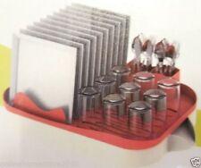 Plastic Washing Up Dish Draining Rack With Trays