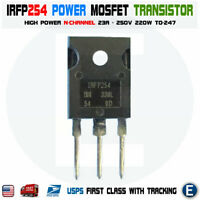 IRFP254 N-Channel MOSFET HEXFET Power Transistor TO-247 250V 23A 220W 0.125 Ohm