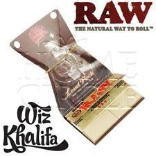 Raw Hemp Classic Wiz Khalifa 1 1/4 Rolling Papers + Tips + Tray Smoking Tobacco