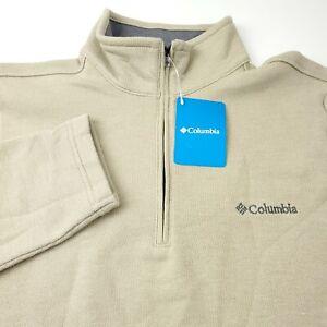 Columbia Great Hart Mountain III Half Zip Pullover Fleece Jacket Mens Medium