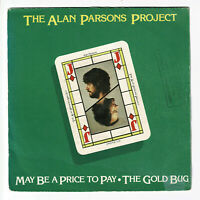 """The ALAN PARSONS PROJECT Vinyl 45 tours 7"""" MAY BE A PRICE TO PAY - ARISTA 102631"""