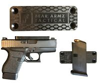 Gun Magnet Mount for CC by Bear Armz Tactical | Rubber Coated w/Adhesive Back