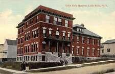 Little Falls New York Hospital Street View Antique Postcard K60700