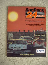 1984  24Hours Of Daytona Race Program Daytona Speedway 3.81 Mile Road Course