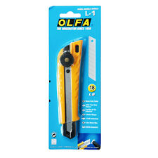 OLFA L-1 18mm Heavy Duty Ratchet-Lock Utility Knife