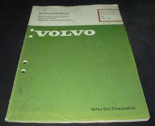 Werkstatthandbuch Volvo 340 Motor B172K D16 Baujahr 1984 - 1991