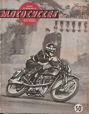 MOTO _ MOTOCYCLES revue bi-mensuelle _ N. 34 - AVRIL 1950 _ MONET GOYON 125 cc