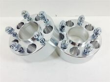 2X CUSTOM Wheel Spacers Adapters 5X114.3 5X4.5 1/2-UNF 70.3MM CB 3 INCH 75MM