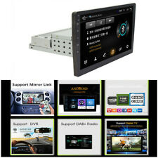 "Single 1Din Android 8.1 10.1"" 1080P Car Stereo Radio GPS Wifi QUAD-Core OBD A2DP"