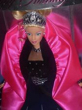 ♥♪ NRFB  RAR TOP Special Edition Barbie Happy Holidays Mattel 1998 im Traumkleid