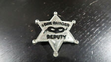 Lone Ranger Deputy Pin with Black Mask
