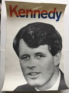 1968 Robert  Kennedy For President Campaign Original Poster