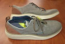 Skechers Status 2.0 Air Cooled Memory Foam Canvas Oxford Casual Shoes 13 ~NWT~