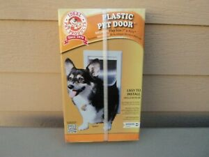New Ideal Pet Products 7 X 11-1/4 Medium Pet Door - For Pets up to 35lbs - White
