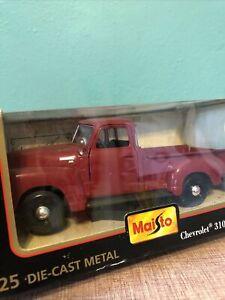 Maisto 1:25 Die Cast Metal Chevrolet 3100 Pick Up (1950)