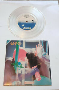 "UFO - Lonely Heart 7"" clear vinyl single. 1981 Heavy Rock"