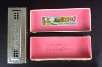Harmonica The ÉCHO HARP par M.Hohner avec boîte d'origine  - made in Germany