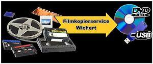 8x Digitalisieren Video 8, Hi 8, Mini DV Kamera Camcorder Kassetten auf DVD