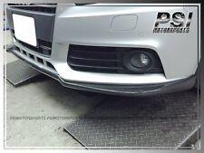 Audi A4 B8 2009-2012 Pre-Facelift Model Only P Type Carbon Fiber Front Lip