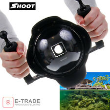 """ Dome Port Diving Camera Lens Cover w/Handheld Stabilizer for GoPro Hero 4 3+"