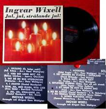 LP Ingvar Wixell: Jul, Jul, Stralande Jul (HMV SCLP 1029) Schweden 1964