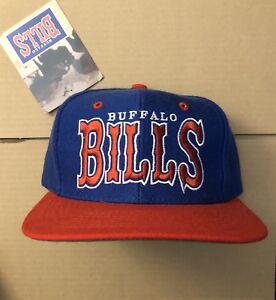 vtg NWT Buffalo Bills Snapback Hat Cap 90s Sabres Jim Kelly Era Josh Allen NEW